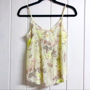 Wilfred Silk Floral Tank Top